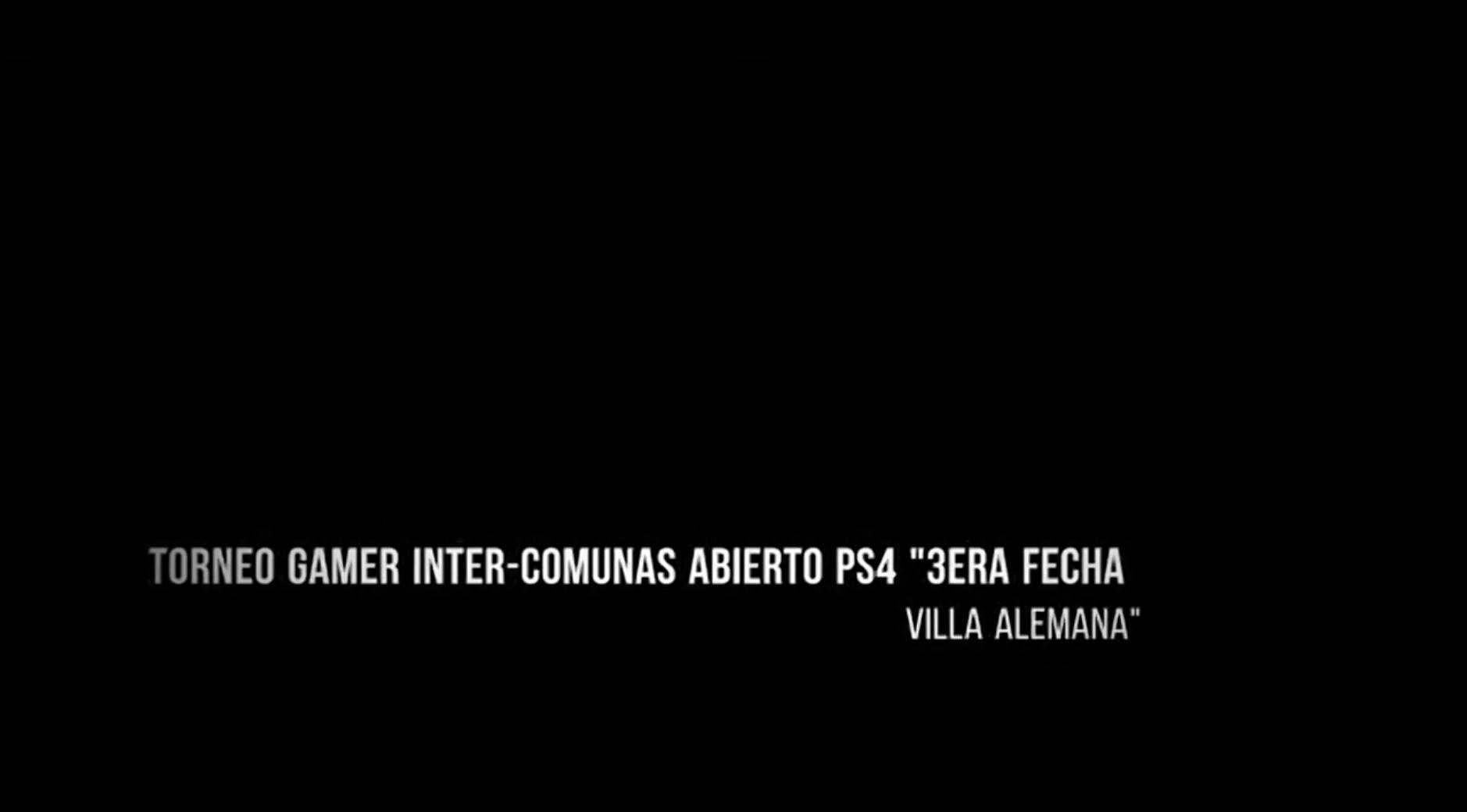 TORNEO GAMER INTER-COMUNAS ABIERTO PS4 VILLA ALEMANA
